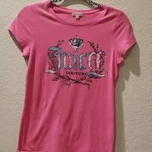 Juicy Couture pink t-shirt